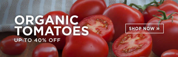 Save up to 40% on fresh Organic Tomatoes this week at SPUD.ca