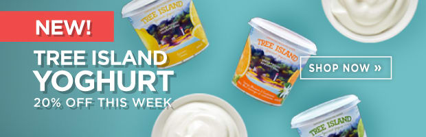 Save 20% on the new Tree Island Artisan Yogurts this week at SPUD.ca