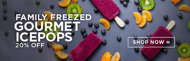 Family Freezed Ice Pops are back at SPUD.ca! Save 20% this week!
