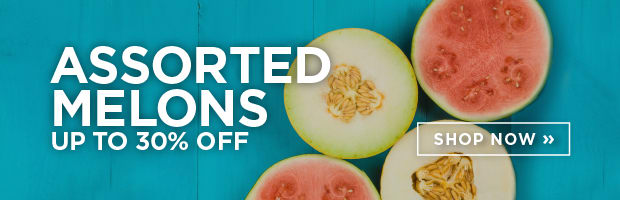 Save on the whole range of Fresh Organic Melons this week at SPUD.ca