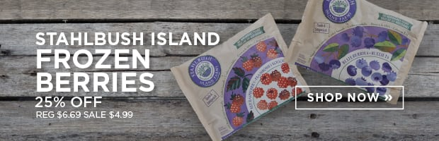 Save 25% on Stahlbush Island Frozen Berries this week at SPUD.ca