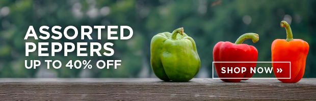 Assorted Peppers up to 40% Off