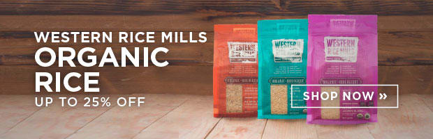 Western Rich Mills Organic Rice up to 25% Off
