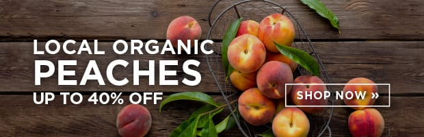Local Organic Peaches Up To 40% Off