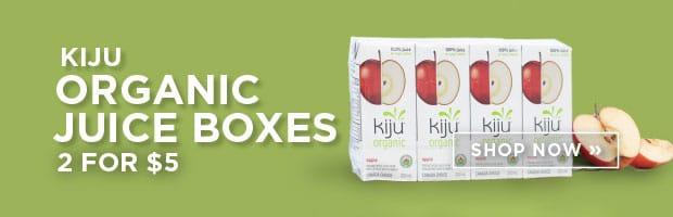 Kiju Organic Juice Boxes 2 for $5