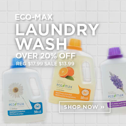 Eco-Max Laundry Wash Over 20% Off