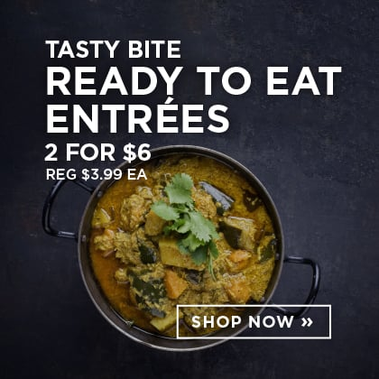 Tasty Bite Ready to Eat Entrees 2 for $6