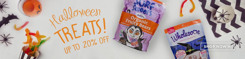 Halloween Treats up to 20% Off