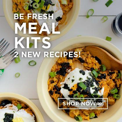 Be Fresh Meal Kits 2 New Recipes