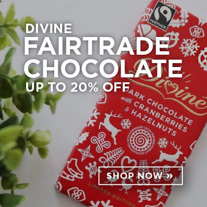 Divine Fairtrade Chocolate up to 20% Off