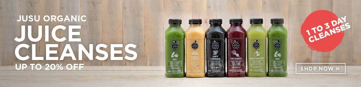 Jusu Organic Juice Cleanses up to 20% Off