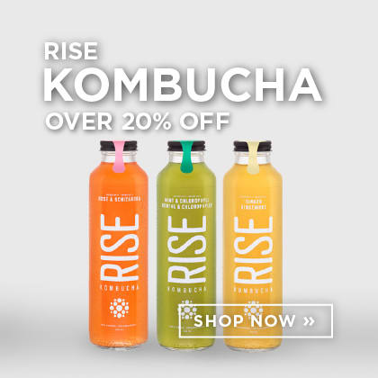 Rise Kombucha over 20% Off