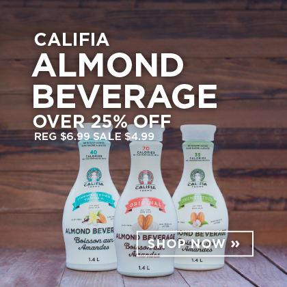 Califia Almond Beverage over 25% Off
