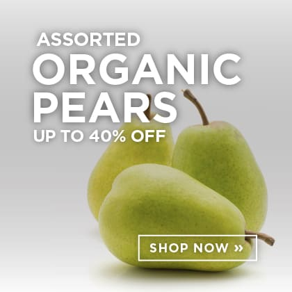 Assorted Organic Pears up to 40% Off