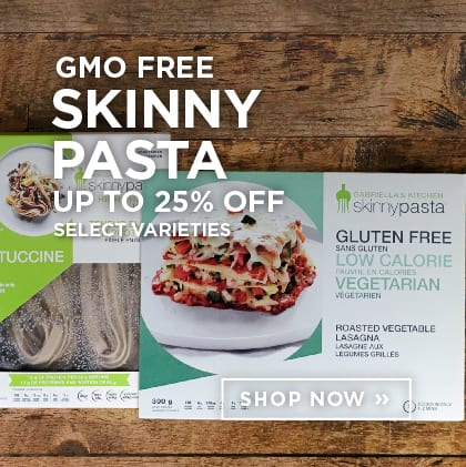GMO Free Skinny Pasta up to 25% Off