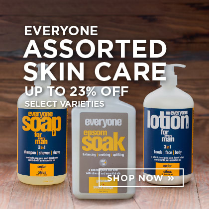 Everyone Assorted Skin Care up to 23% Off