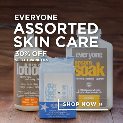 Everyone Assorted Skin Care 30% Off