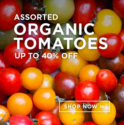 Assorted Organic Tomatoes up to 40% Off