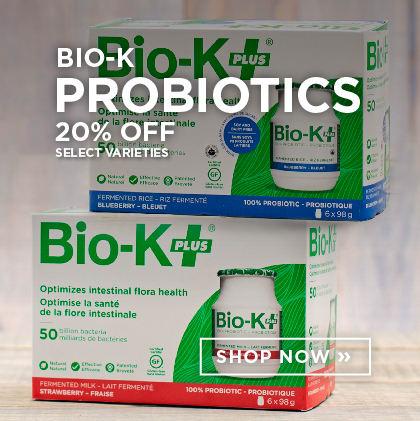 Bio-K Probiotics 20% Off