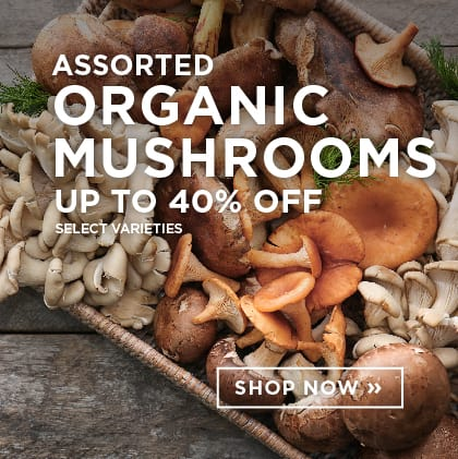 Assorted Organic Mushrooms up to 40% Off