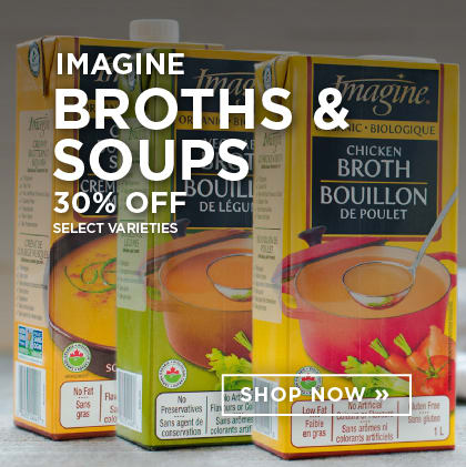 Imagine Broths & Soups 30% Off