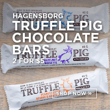 Hagensborg Truffle Pig Chocolate Bars 2 for $5