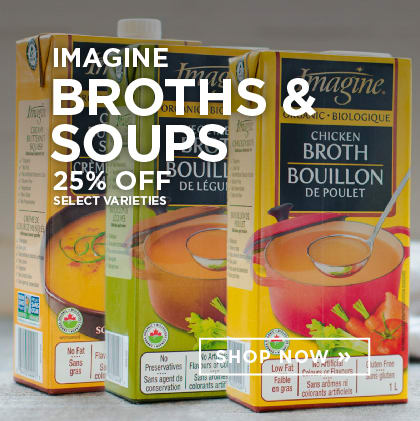 Imagine Broths & Soups 25% Off