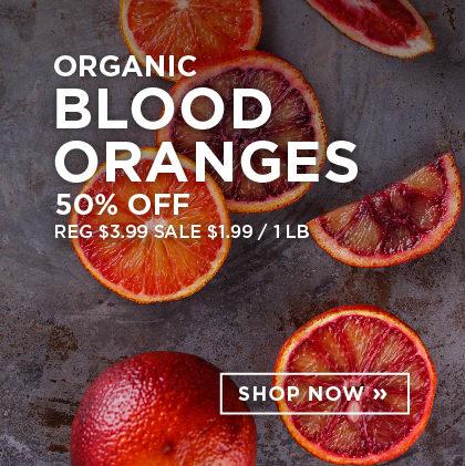 Organic Blood Oranges 50% Off