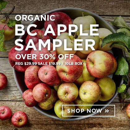 Organic BC Apple Sampler over 30% Off