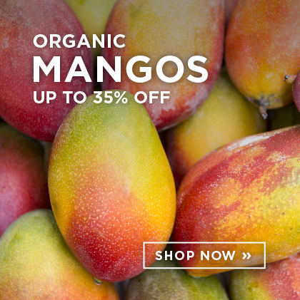 Organic Mangos up to 35% Off