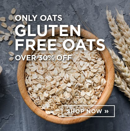 Only Oats Gluten Free Oats over 30% Off