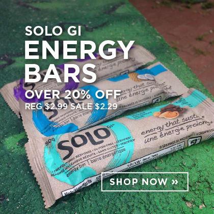 Solo Gi Energy Bars over 20% Off