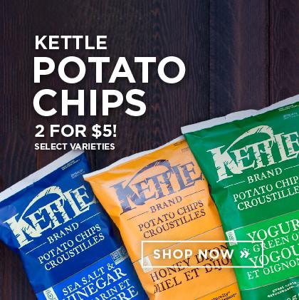 Kettle Potato Chips - 2 for $5