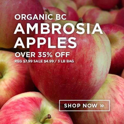 Organic BC Ambrosia Apples over 35% Off