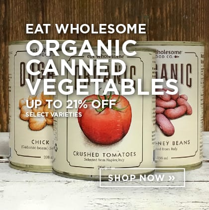 Eat Wholesome - Canned Vegetables up to 21% Off