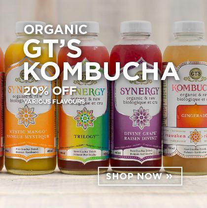 Organic GT's Kombucha 20% Off