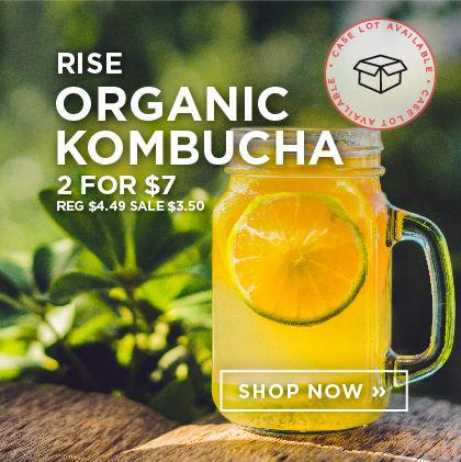 Rise - Organic Kombucha - 2 for $7