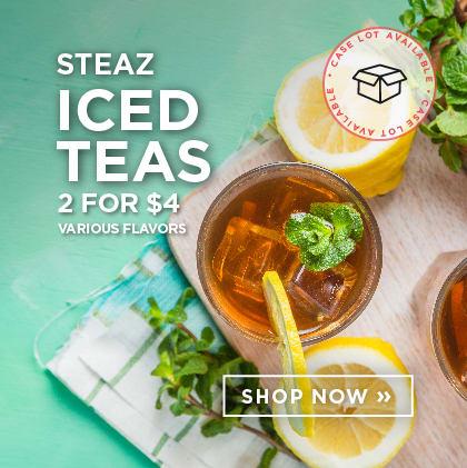Steaz Iced Teas - 2 for $4