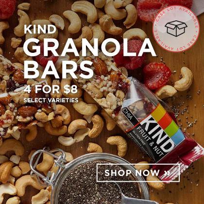Kind Snack Bars - 4 for $8