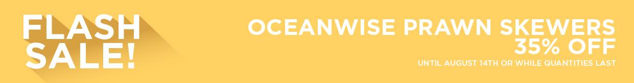Oceanwise Prawn Skewers 35% Off