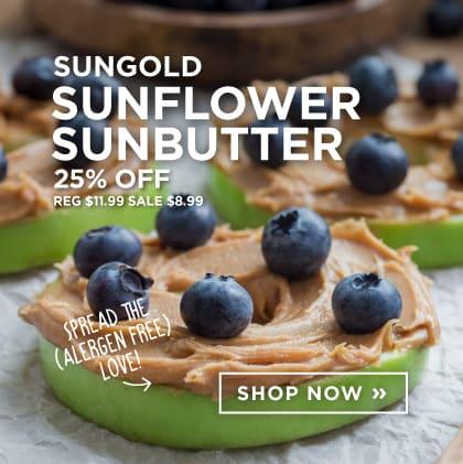 Sungold - Sunflower Sunbutter 25% Off