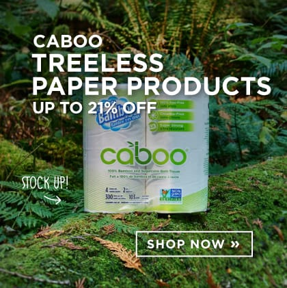 Caboo: Treeless Paper Products Up to 21% Off