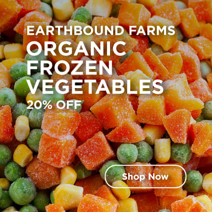 Earthbound Farms Organic Frozen Vegetables 20% Off