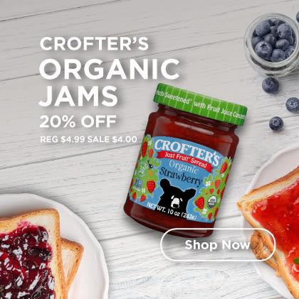 Crofter's: Organic Jams 20% Off