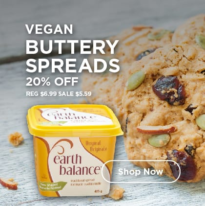Vegan Buttery Spreads 20% Off