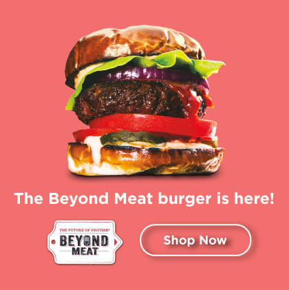 The Beyond Meat burger is here!