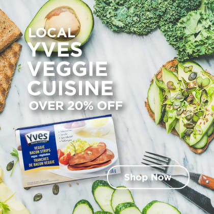 Local Yves Veggie Cuisine Over 20% Off