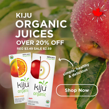 Kiju Organic Juices Over 20% Off
