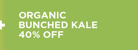 Organic Bunched Kale 40% Off
