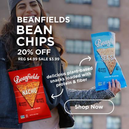 Beanfields Bean Chips 20% Off
